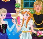 كعكة الزفاف آنا والديكور