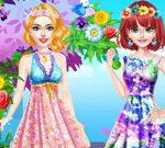عرض الزهور بلوندي