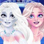 مكياج جديد ملكة الثلج إليزا