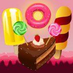 الحروف الأبجدية للأرض الحلوى