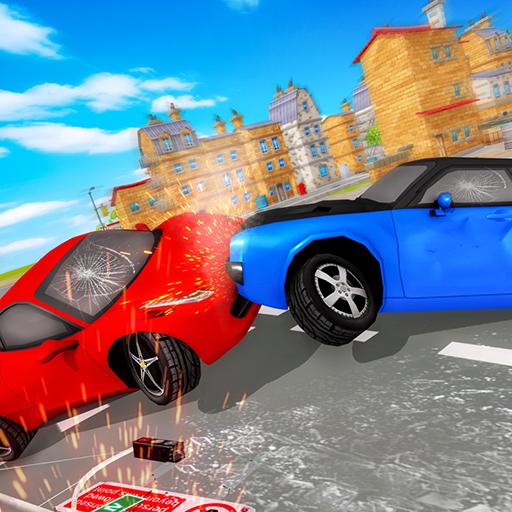 الصورة سيارة تدمير سيارة