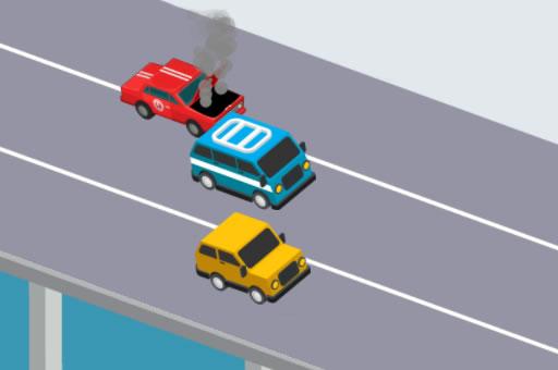الصورة سائق الطريق السريع