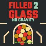 زجاج مملوء 2 بدون جاذبية