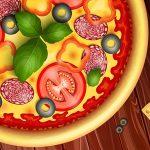 ألعاب الطبخ والخبز بيتزا للأطفال
