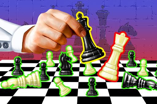 لعبة الشطرنج الحقيقي اون لاين