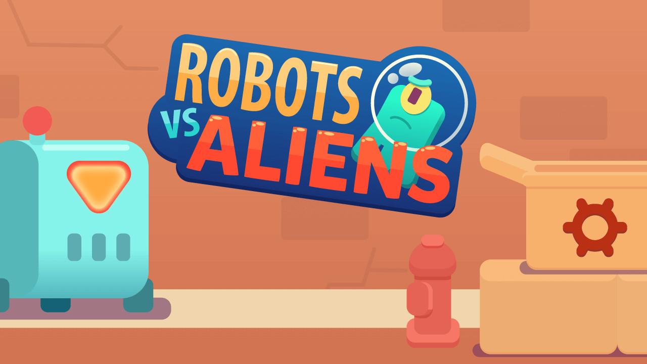 الصورة الروبوتات مقابل الأجانب