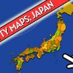 خرائط Scatty اليابان