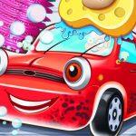 مرآب لغسيل السيارات للأطفال