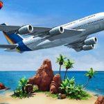 طائرة محاكاة جزيرة السفر