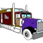 تلوين الشاحنات الأمريكية