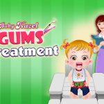 علاج لثة عسلي للاطفال