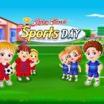 اليوم الرياضي للطفل عسلي