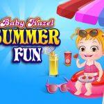 طفل عسلي متعة الصيف