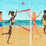 بانوراما الكرة الطائرة الشاطئية