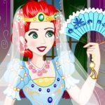 فستان زفاف الأميرة الشجاع