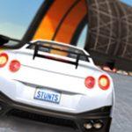 سباقات حيلة السيارات: المنحدرات الضخمة