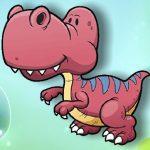 تحدي ذاكرة الديناصورات الكرتونية