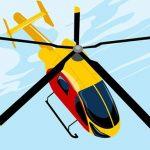 طائرة هليكوبتر خطرة
