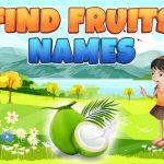 البحث عن أسماء الفواكه
