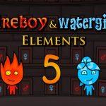 فتى النار وفتاة الماء 5 عناصر