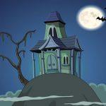 منزل مسكون مخفي شبح