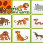 ذاكرة الأطفال – الحيوانات البرية