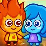 فتى الحمم والفتاة الزرقاء