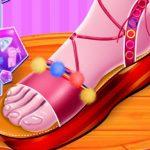 أميرة أزياء Flatforms تصميم