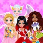 الألغاز – مظهر الأميرات والملائكة الجديد