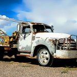 بانوراما الشاحنات الصدئة