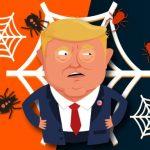 العنكبوت ترامب
