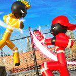 شرطة Stickman VS Gangsters Street Fight