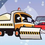 الشتاء شاحنة بانوراما