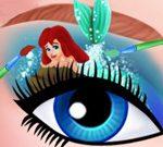 مكياج عيون باربي الفني
