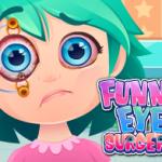 جراحة العيون المضحكة