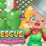 مضحك الإنقاذ البستاني